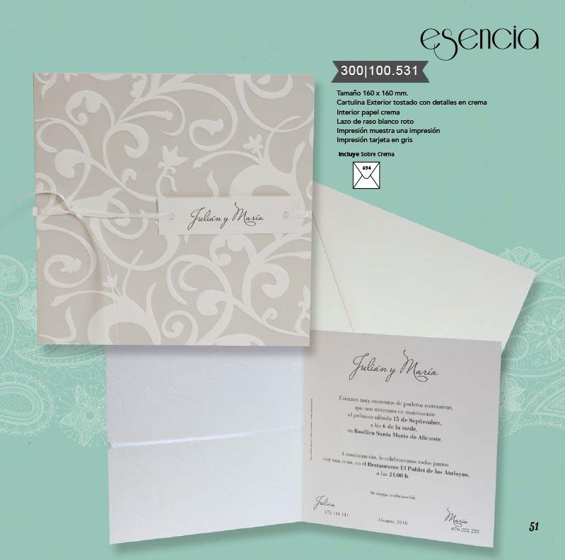 Boda catálogo esencia | Bouquet 300100531