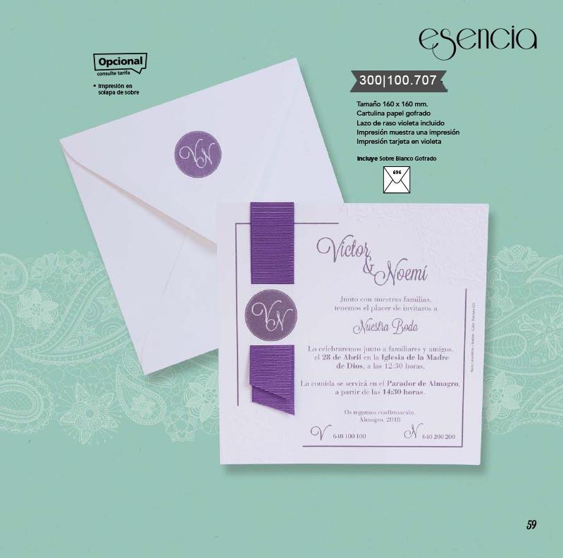 Boda catálogo esencia | Bouquet 300100707
