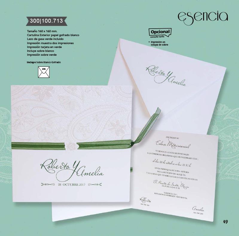 Boda catálogo esencia | Bouquet 300100713