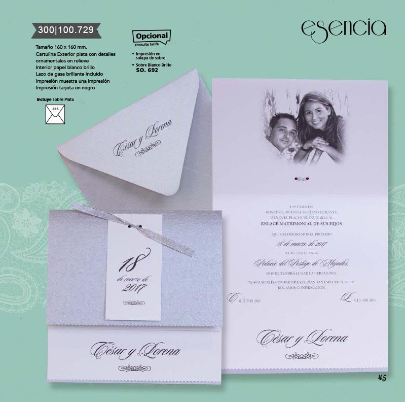 Boda catálogo esencia | Bouquet 300100729