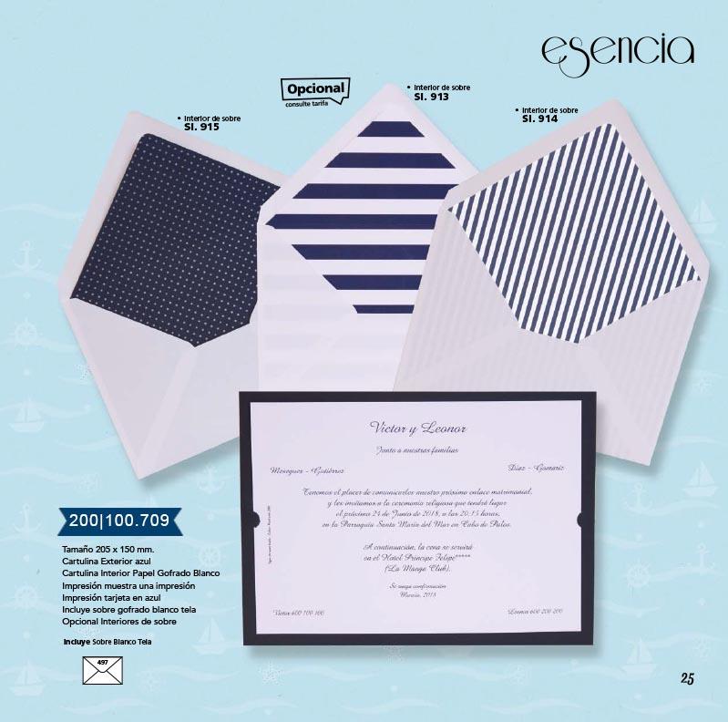 Boda catálogo esencia | Marina 200100709