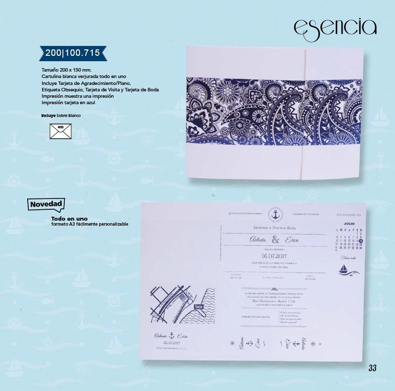 Boda catálogo esencia | Marina 200100715