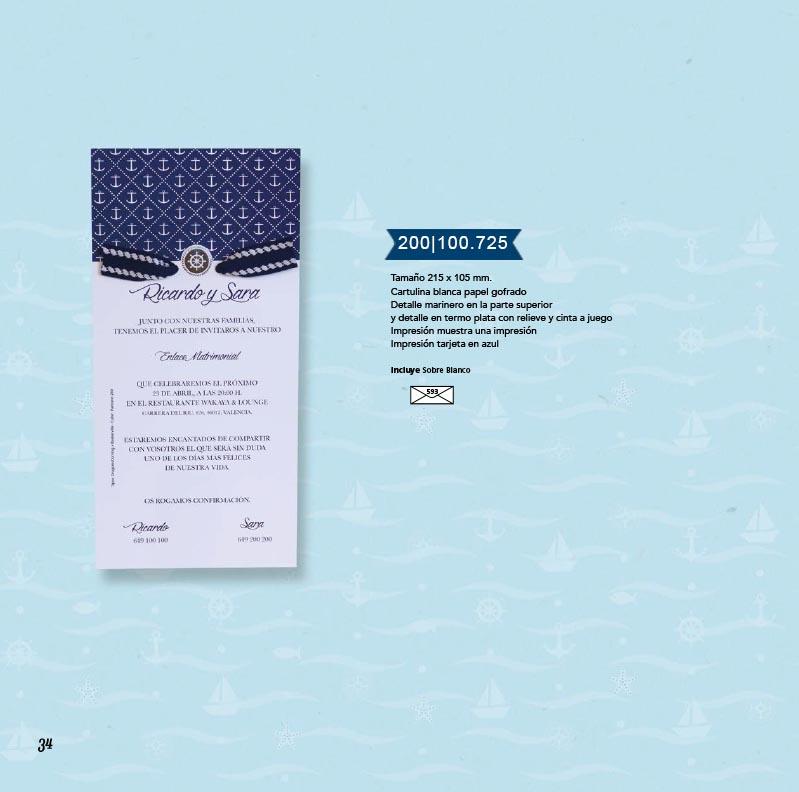 Boda catálogo esencia | Marina 200100725