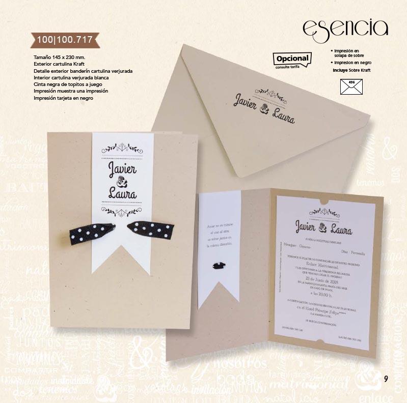 Boda catálogo esencia | Natural 100100717