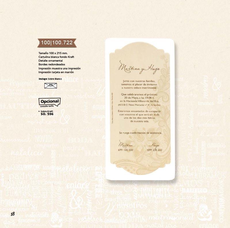 Boda catálogo esencia | Natural 100100722