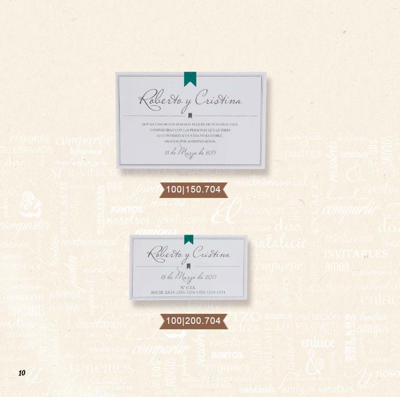 Boda catálogo esencia | Natural 100150704 y 100200704
