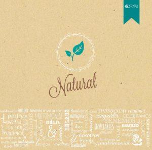 Boda catálogo Esencia | Capítulo Natural