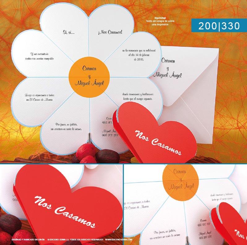Boda catálogo frescura 200330
