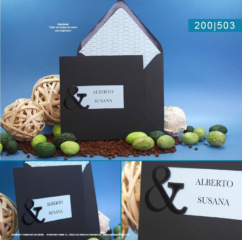 Boda catálogo frescura 200503