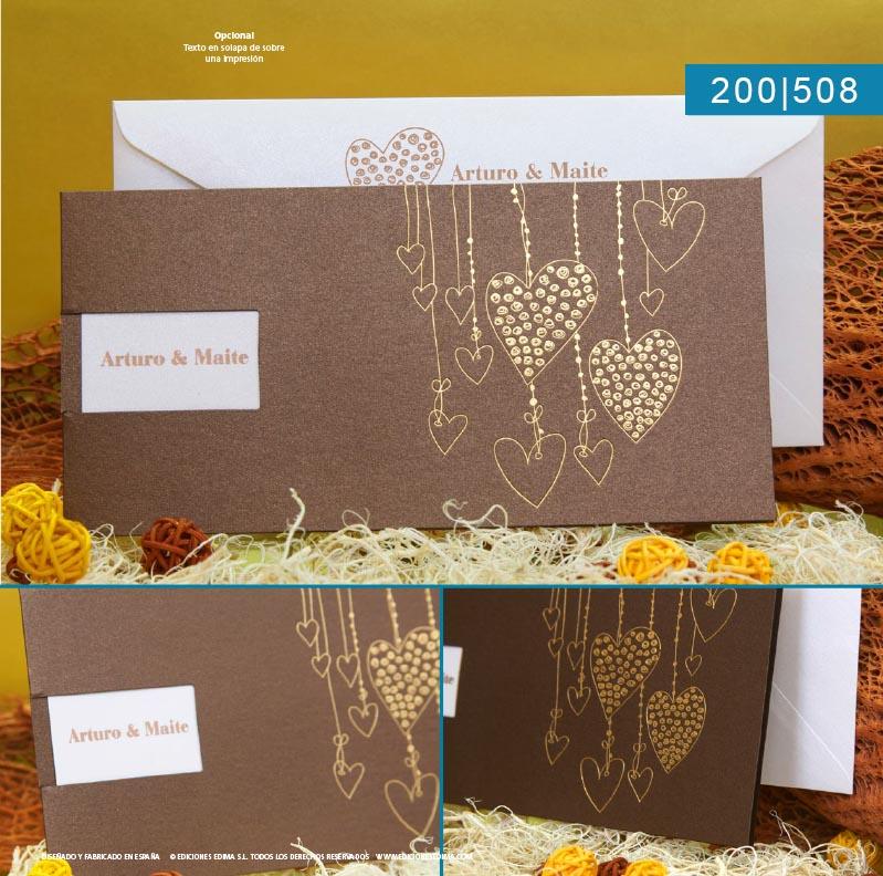 Boda catálogo frescura 200508