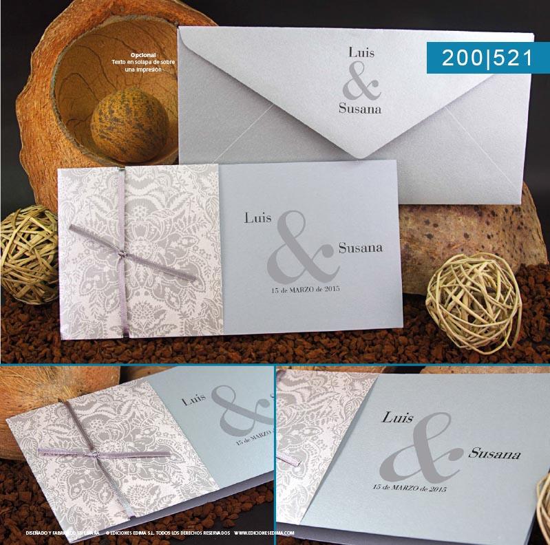 Boda catálogo frescura 200521
