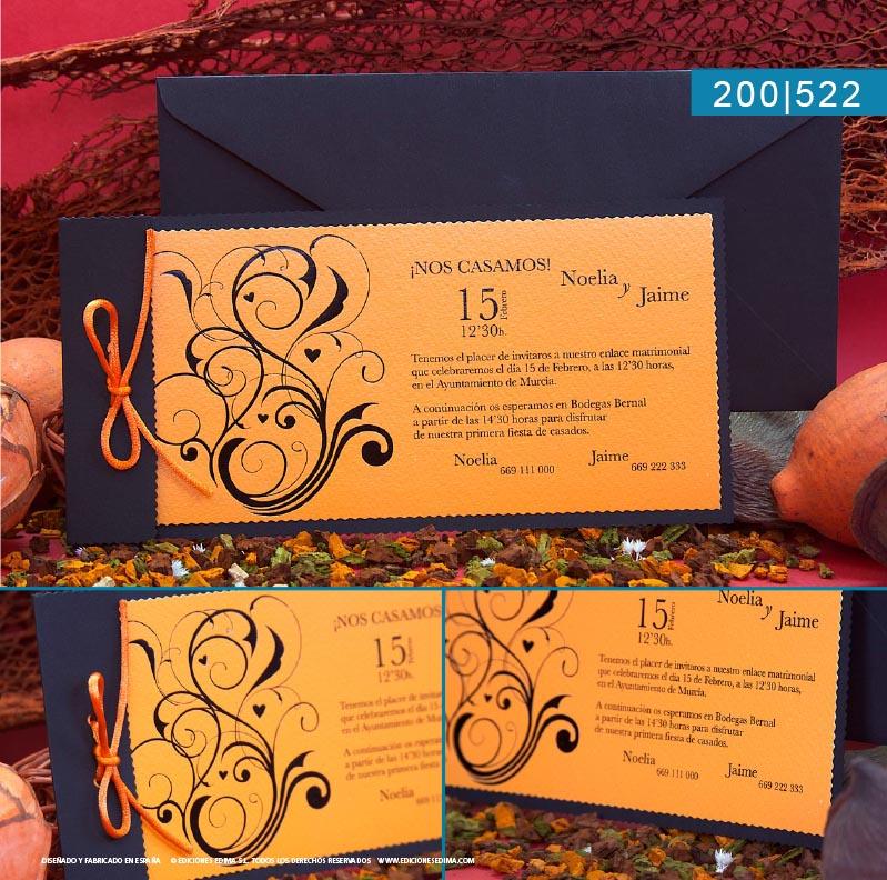 Boda catálogo frescura 200522