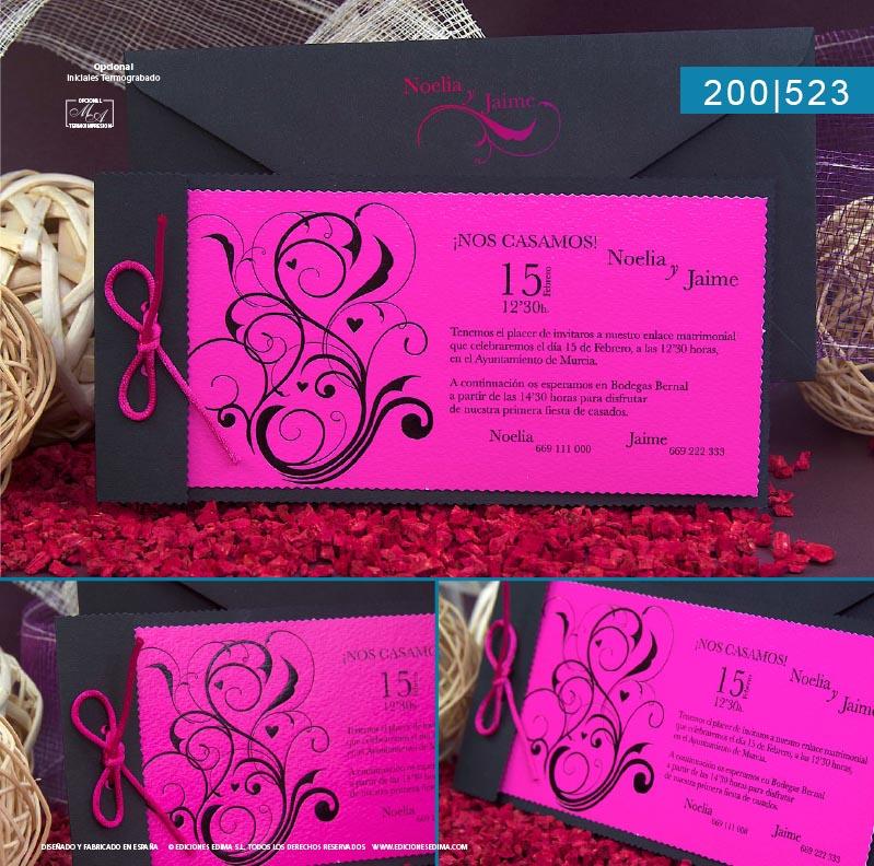 Boda catálogo frescura 200523