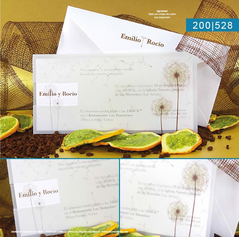 Boda catálogo frescura 200528