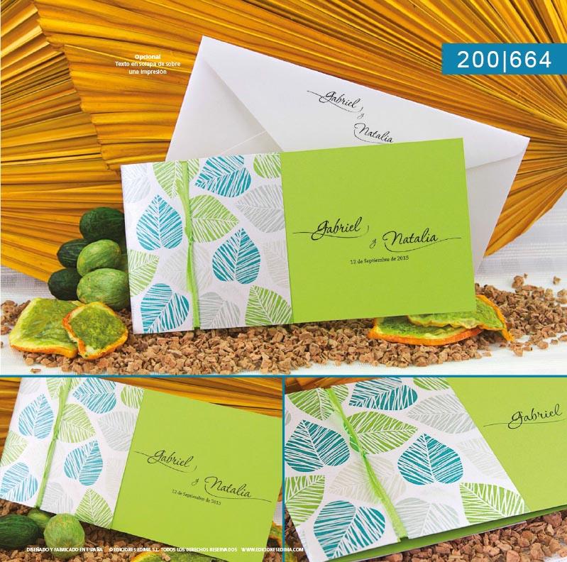 Boda catálogo frescura 200664