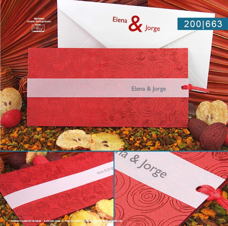Boda catálogo frescura 200663