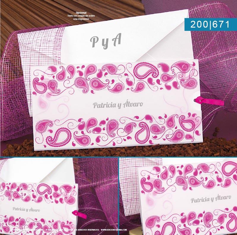 Boda catálogo frescura 200671