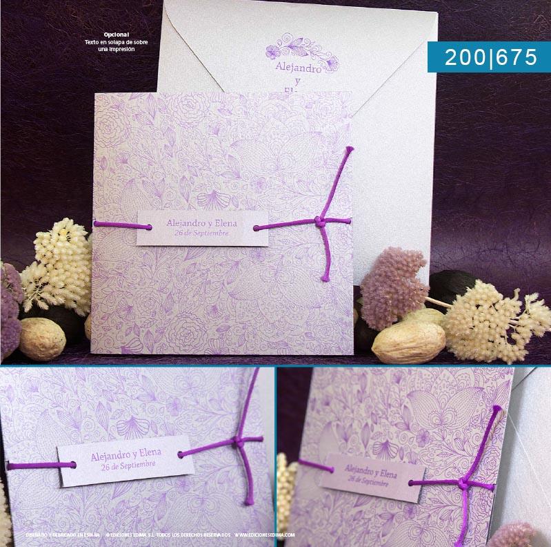 Boda catálogo frescura 200675